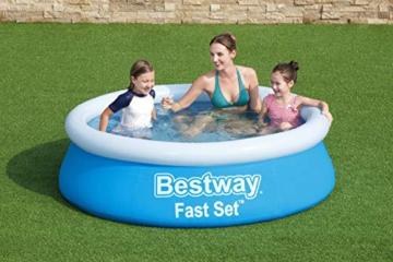 Bestway Fast Set Pool, 183 x 51 cm, ohne Pumpe, rund, blau - 2