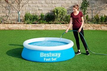 Bestway Fast Set Pool, 183 x 51 cm, ohne Pumpe, rund, blau - 5