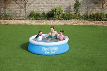 Bestway Fast Set Pool, 183 x 51 cm, ohne Pumpe, rund, blau - 6