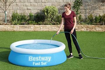Bestway Fast Set Pool, 183 x 51 cm, ohne Pumpe, rund, blau - 9
