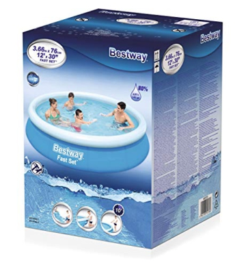 BESTWAY Fast Set Pool 366x76 cm, ohne Pumpe - 6