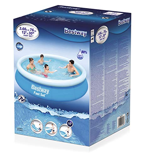 BESTWAY Fast Set Pool 366x76 cm, ohne Pumpe - 6