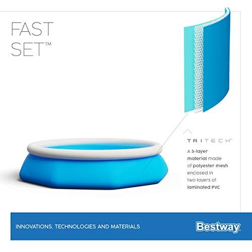 Bestway Fast Set Pool ohne Pumpe, rund, 305 x 76 cm - 7
