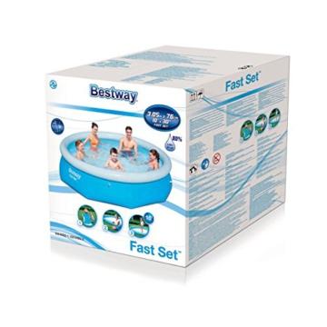 Bestway Fast Set Pool, rund, ohne Pumpe, blau, 305 x 76 cm - 3