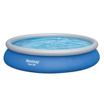 BESTWAY Fast Set Pool Set 457x84 cm, mit Filterpumpe - 4