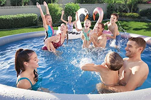 BESTWAY Fast Set Pool Set 457x84 cm, mit Filterpumpe - 9