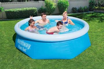 Bestway Fast Set Pool-Set mit Filterpumpe, rund, 244 x 66 cm - 4