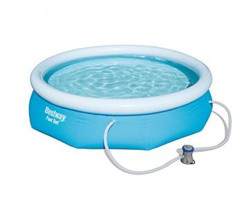 Bestway Fast Set Pool Set, rund, blau, 305 x 76 cm - 1