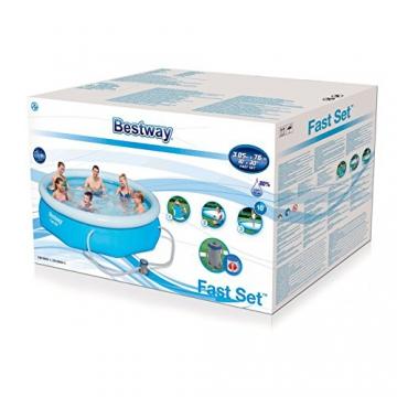 Bestway Fast Set Pool Set, rund, blau, 305 x 76 cm - 3