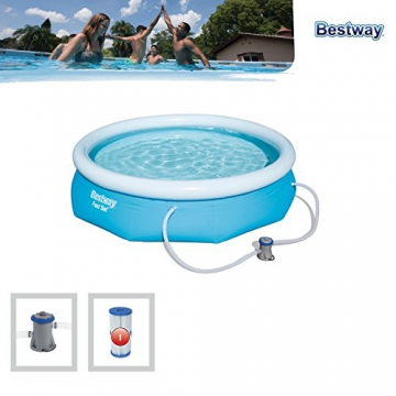 Bestway Fast Set Pool Set, rund, blau, 305 x 76 cm - 4
