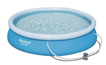 Bestway Fast Set Pool Set rund, blau, 366 x 76 cm - 1
