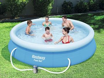 Bestway Fast Set Pool Set rund, blau, 366 x 76 cm - 2
