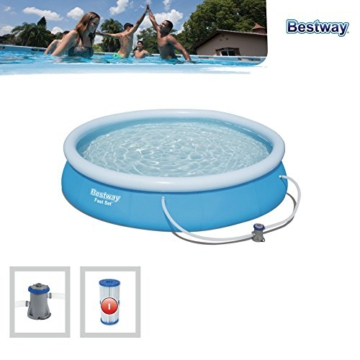 Bestway Fast Set Pool Set rund, blau, 366 x 76 cm - 3