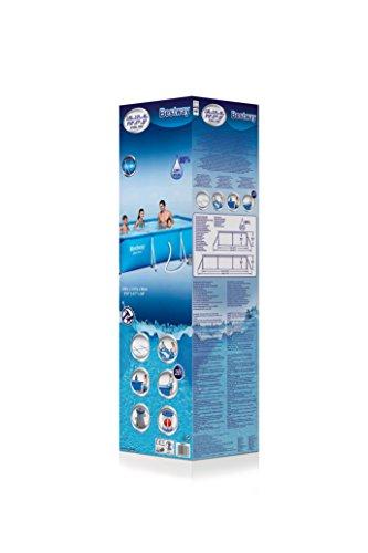Bestway Frame Pool Deluxe Splash - Steel Pro, Set mit Filterpumpe, 300 x 201 x 66 cm, blau - 3