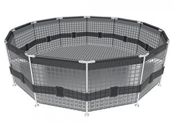 Bestway Frame Pool Steel Pro, Set mit Filterpumpe, 366 x 76 cm, blau - 7