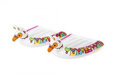 Bestway H2OGO! 2er-Wasserrutsche mit aufblasbaren Lama-Schwimmtieren, 488 cm - 6