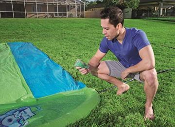Bestway H2oGo 3er Wasserrutsche Slime Blast, 549 cm - 2