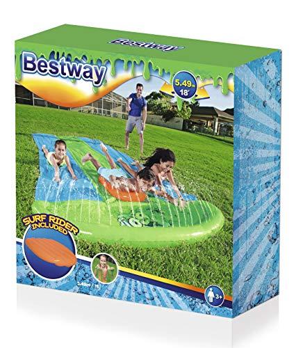 Bestway H2oGo 3er Wasserrutsche Slime Blast, 549 cm - 7