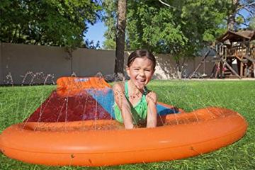 Bestway H2oGo Doppel-Wasserrutsche, mit aufblasbarer Startrampe, Double Ramp, 549 cm - 6