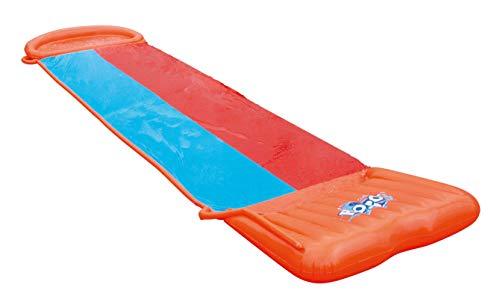 Bestway H2oGo Doppel-Wasserrutsche, mit aufblasbarer Startrampe, Double Ramp, 549 cm - 1
