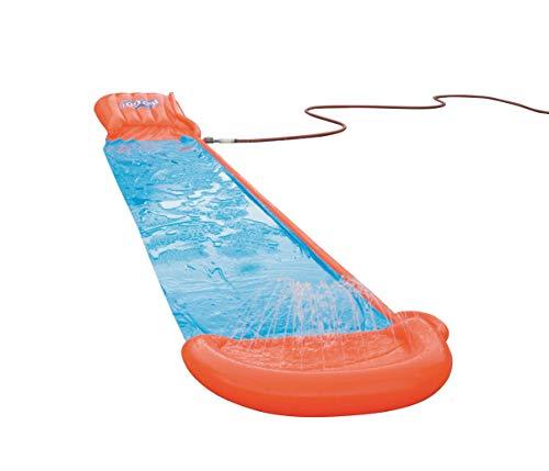 Bestway H2oGo Doppel-Wasserrutsche, mit aufblasbarer Startrampe, Single Ramp 549 cm - 8