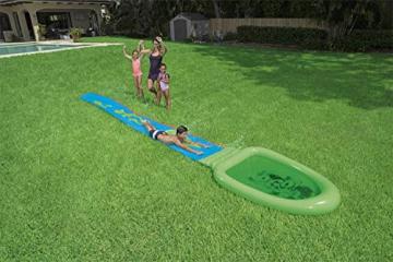 Bestway H2OGO! Schleim-Wasserrutsche inklusive Pulver, 701 cm - 2