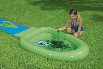 Bestway H2OGO! Schleim-Wasserrutsche inklusive Pulver, 701 cm - 5