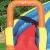 Bestway H2OGO! Wasseroark Turbo Splash, Planschbecken mit Wasserrutsche und Kletterwand, 365x320x275 cm - 11