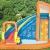 Bestway H2OGO! Wasseroark Turbo Splash, Planschbecken mit Wasserrutsche und Kletterwand, 365x320x275 cm - 17