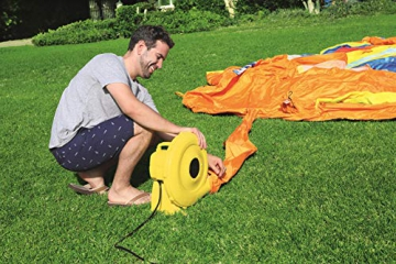 Bestway H2OGO! Wasseroark Turbo Splash, Planschbecken mit Wasserrutsche und Kletterwand, 365x320x275 cm - 21