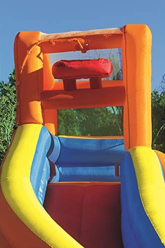Bestway H2OGO! Wasseroark Turbo Splash, Planschbecken mit Wasserrutsche und Kletterwand, 365x320x275 cm - 4