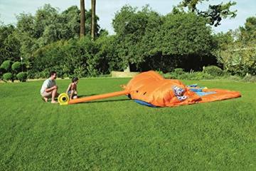 Bestway H2OGO! Wasseroark Turbo Splash, Planschbecken mit Wasserrutsche und Kletterwand, 365x320x275 cm - 35