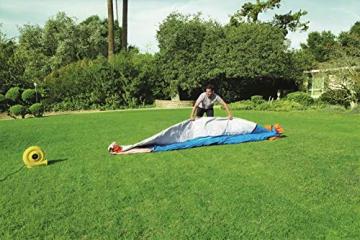 Bestway H2OGO! Wasseroark Turbo Splash, Planschbecken mit Wasserrutsche und Kletterwand, 365x320x275 cm - 37