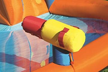 Bestway H2OGO! Wasseroark Turbo Splash, Planschbecken mit Wasserrutsche und Kletterwand, 365x320x275 cm - 5
