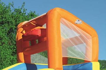 Bestway H2OGO! Wasseroark Turbo Splash, Planschbecken mit Wasserrutsche und Kletterwand, 365x320x275 cm - 6
