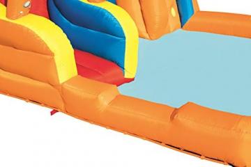 Bestway H2OGO! Wasseroark Turbo Splash, Planschbecken mit Wasserrutsche und Kletterwand, 365x320x275 cm - 54