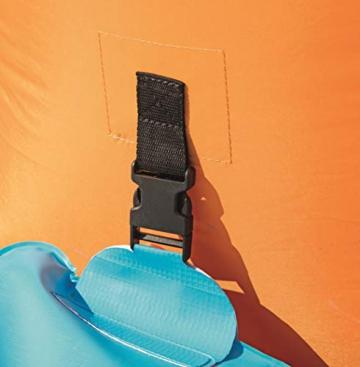 Bestway H2OGO! Wasseroark Turbo Splash, Planschbecken mit Wasserrutsche und Kletterwand, 365x320x275 cm - 70