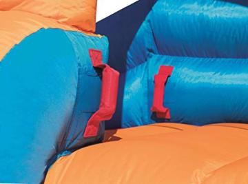 Bestway H2OGO! Wasseroark Turbo Splash, Planschbecken mit Wasserrutsche und Kletterwand, 365x320x275 cm - 76