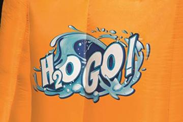 Bestway H2OGO! Wasseroark Turbo Splash, Planschbecken mit Wasserrutsche und Kletterwand, 365x320x275 cm - 87