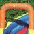 Bestway H2OGO! Wasseroark Turbo Splash, Planschbecken mit Wasserrutsche und Kletterwand, 365x320x275 cm - 10