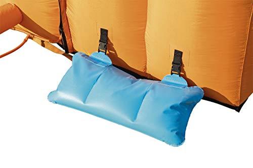 Bestway H2OGO! Wasserpark Hurricane, Planschbecken mit Wasserrutsche und Kletterwand, 420x320x260 cm - 9