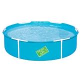 Bestway My First Frame Pool, stabiler und leicht aufbaubarer Kinderpool, 152x152x38 cm - 1