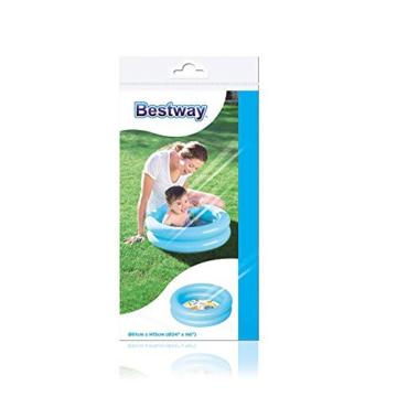 Bestway Planschbecken Kiddie Lounge, 61 x 15 cm 2 Ringe (Blau) - 3