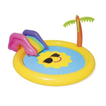 BESTWAY Planschbecken mit Wasserfontäne Sunnyland Splash Play Pool - 1