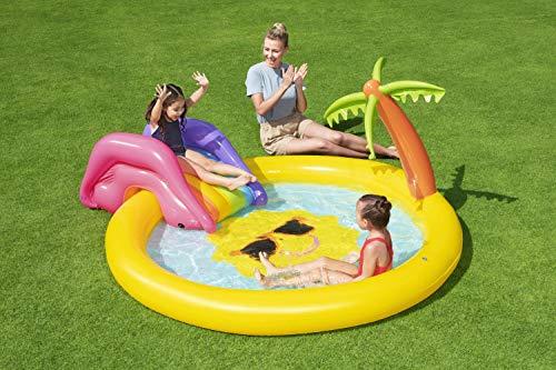 BESTWAY Planschbecken mit Wasserfontäne Sunnyland Splash Play Pool - 11