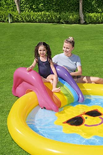 BESTWAY Planschbecken mit Wasserfontäne Sunnyland Splash Play Pool - 12