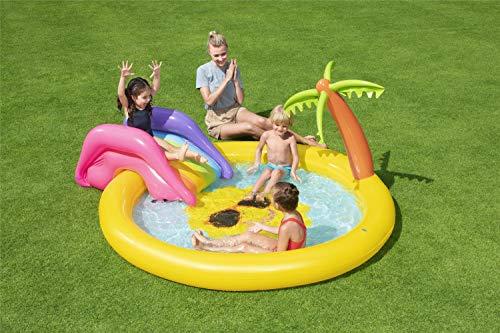BESTWAY Planschbecken mit Wasserfontäne Sunnyland Splash Play Pool - 2