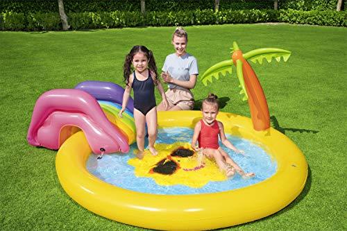 BESTWAY Planschbecken mit Wasserfontäne Sunnyland Splash Play Pool - 9