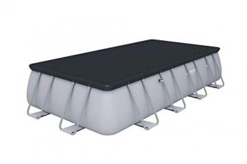 Bestway Power Steel Framepool  Komplett-Set, eckig, mit Sandfilteranlage, Sicherheitsleiter & Abdeckplane 549 x 274 x 122 cm - 5