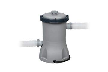 Bestway Power Steel Framepool-Set, oval, mit Filterpumpe & Sicherheitsleiter 427 x 250 x 100 cm - 9
